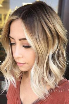 Ombre short curly hair sassy hairstyles to wear at any age a see more women wavy . ombre short curly hair blue haircuts for women balayage . Short Curly Hairstyles For Women, Short Blonde Haircuts, Curly Hair Styles, Cool Hairstyles, Curly Short, Hairstyles 2018, Curly Haircuts, Dark Roots Blonde Hair Short, Dark Roots Blonde Hair Balayage