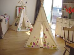 I'm not trying to be a hater... but I never had a cool tent in my room when I was a kid. It's just not fair.