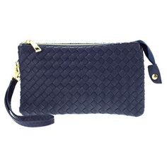 Witchy Poo's Woven Convertible Cross Body Bag, Wallet and Wristlet