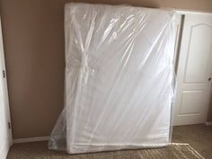 Cor Movers always uses mattress cover bags when moving mattress. This keeps dirt from getting on the mattress. http://cormovers.com/residential_move/