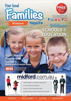 #Brisbane #Schools & #Education Issue Aug/Sept 2014  Education, #parenting, #family #health, what's on, #competitions and much more!
