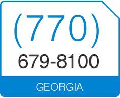 Lovely Buy (770) 679 8100 Vanity Number Georgia Area Code 770 Local Vanity  Telephone