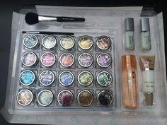 Beauty & Health Qibest Fashion Eye Shadow Makeup Glitter Powder Pearl Metallic Eyeshadow Palette+glue Set Colorful Laser Silver Powder Glitter Dependable Performance Beauty Essentials