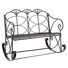 I am so in love with this Bench Rocker from Kirklands!