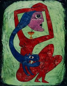 Victor Brauner (Romanian, 1903-1966) Strigoï. La Somnambule,...