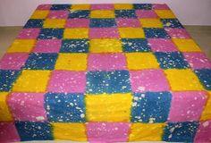 Sale 10% Christmas Tie dye sheets bed sheet handmade print
