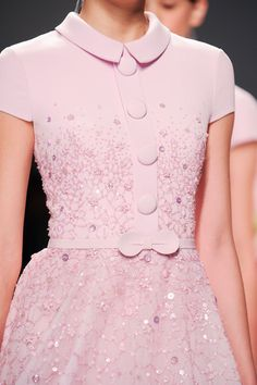 Georges Hobeika at Couture Spring 2015 (Details)