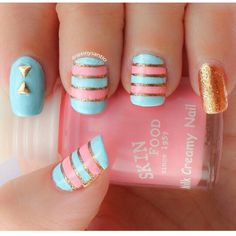Pastels. Easter nails.