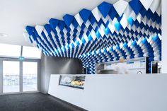 How Glaciers Inspired a Graphic Ice Cream Parlour in Reykjavík - Azure Magazine   Azure Magazine