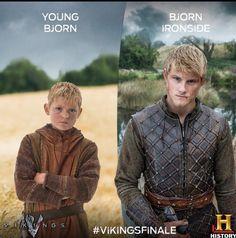 Bjorn  Via Vikings History Channel