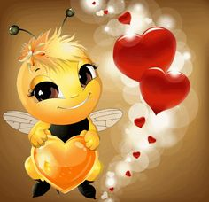 The perfect KindOfBee Bee Heart Animated GIF for your conversation. Discover and Share the best GIFs on Tenor. Animated Smiley Faces, Animated Emoticons, Funny Emoticons, Funny Emoji, Love Smiley, Emoji Love, Cute Good Morning Quotes, Good Morning Gif, Emoji Images