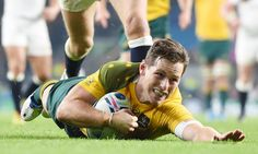 Anglaterra 13-33 Austràlia #RWC2015 #ENG vs #AUS #CarryThemHome vs #StrongerAsOne #Wallabies  / Australia's Bernard Foley