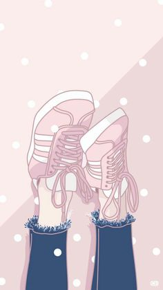 Ideas sneakers wallpaper just do it Sneakers Wallpaper, Shoes Wallpaper, Kawaii Wallpaper, Pastel Wallpaper, Tumblr Wallpaper, Galaxy Wallpaper, Cartoon Wallpaper, Wallpaper Backgrounds, Fashion Wallpaper