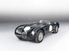 1953 JAGUAR XK120C 'C-TYPE' SPORTS-RACING TWO-SEAT ROADSTER Registration no. POV 114 (UK) Chassis no. XKC 011' – Originally 'XKC 047're-stamped 'XKC 011' by Jaguar Cars Ltd. in 1954 Engine no. E 1066-9.