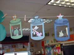 camping theme classroom   Camping Theme Classroom / We also pretendend we went on the hunt with ...