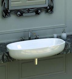 Studio Lago II Semi Recessed Basin | Vanity Units - My Bathroom & Tile Centr | My Bathroom & Tile Centre Sydney