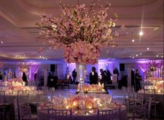The Tree Centerpiece Design Sara And Matt S Spectacular Wedding At Mandarin Oriental Hotel Ny Pinterest Centerpieces