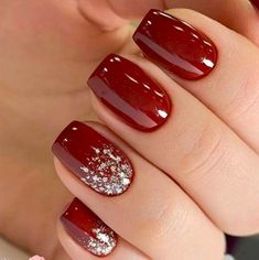 52 Winter nail colors and designs, mismatched nail colors, not . - 52 Winter nail colors and designs, mismatched nail colors, not … - Winter Nail Designs, Colorful Nail Designs, Acrylic Nail Designs, Nail Ideas For Winter, Nail Color Designs, Colorful Nails, Winter Nail Art, Acrylic Nails, Christmas Gel Nails