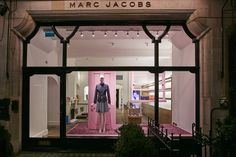 Marc Jacobs Store in London with the SS '15 Collections