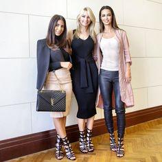 The SARI is back for #NINEWESTSS15! Blogger babes @annaheinrich1 @andrianachidiac & @laurahazzouri rock this seasons hottest heel #stylesari