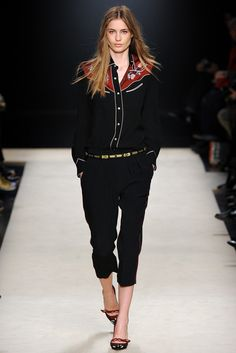 Isabel Marant Fall 2012 Ready-to-Wear Fashion Show - Nadja Bender (OUI)