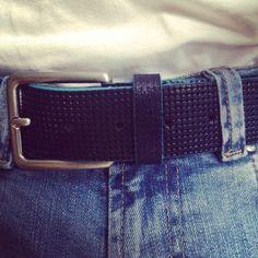 Blue belt.