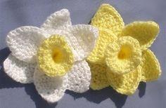 ...Daffodils * free pattern  @Joyce Wilkins