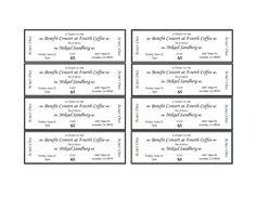 event ticket template printable   Templates   Pinterest   Best ...