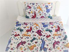 doll bedding 4 18 inch american girl blanket pillow set colorful heart flower 90