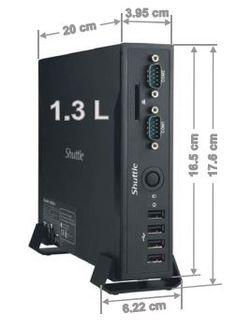 PC Slim Dekstop Ark BUXTON BX-IC2DS47