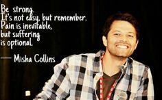 Oh, Misha!! Why we love you so doggone much <3