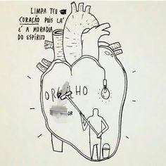 Image result for limpa seu coração do oorgulho desenho