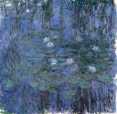 Клод Моне - Water Lilies, 1916-19 06. Клод Оскар Моне