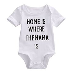 Newborn Infant Babys Cute Short Sleeve Bodysuit Jumpsuit Outfits 612 Months * More info could be found at the image url.Note:It is affiliate link to Amazon.