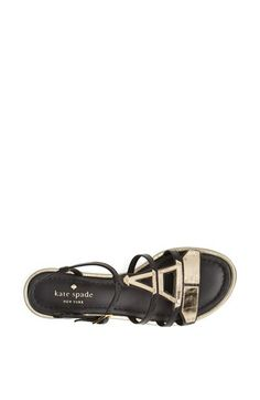 Loving these Kate Spade sandals