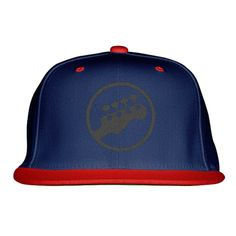 Guitar Embroidered Snapback Hat