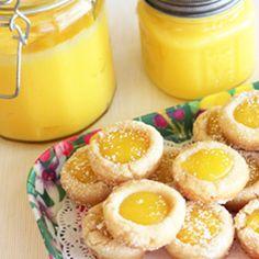 One of my favorite desserts.  Google Image Result for http://dessertstalking.wpcloudlayer.netdna-cdn.com/wp-content/uploads/2011/11/1321540439-Lemon-Bar-Cookie-Cups-sq-2.jpg