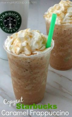 Copy cat caramel frappe chino