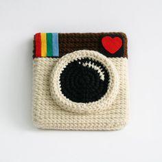 Instagram Coin Purse  Love IG Original Color