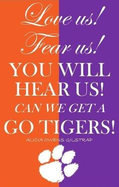Go Tigers!   Like my facebook page for exercise tips, support, and recipes.  https://www.facebook.com/letsbefit43/?ref=aymt_homepage_panel