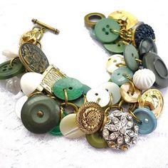 Quer aprender a fazer pulseiras de botões?