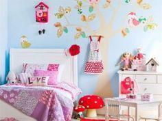 déco chambre enfant arbre papier peint