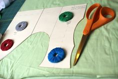 Crafty Gemini: DIY Sewing Pattern Weights- Tutorial