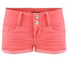 Pink peach colored shorts