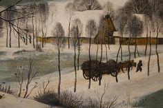 Hunters in the Snow, detail: winter fuel Oil Pastel Colours, Oil Pastels, Hunters In The Snow, Kunsthistorisches Museum, Renaissance Kunst, Pieter Bruegel The Elder, Archangel Gabriel, Painting Snow, Hieronymus Bosch