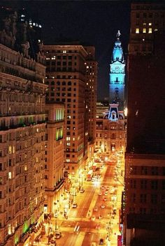 Philly at night!!