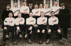 Holland team group in 1905.