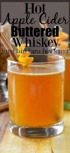 Apple Cider Buttered Whiskey Hot Apple Cider Buttered Whiskeys are the perfect holiday cocktail for Thanksgiving and Christmas entertaining.Hot Apple Cider Buttered Whiskeys are the perfect holiday cocktail for Thanksgiving and Christmas entertaining. Whisky Cocktail, Whiskey Drinks, Cocktail Drinks, Bacardi Cocktail, Cocktail Ideas, Hot Apple Cider Cocktail, Apple Cider Whiskey, Apple Cider Bar, Thanksgiving Cocktails