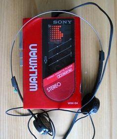 walkman...cassette tape