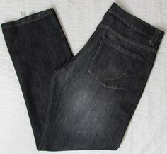 Men PDC Paper Denim & Cloth Jeans Black Whisking Classic Relaxed Fit sz 36 X 32
